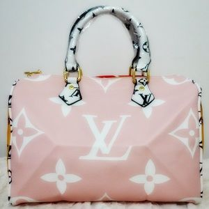 Louis Vuitton speedy 25 pink/red